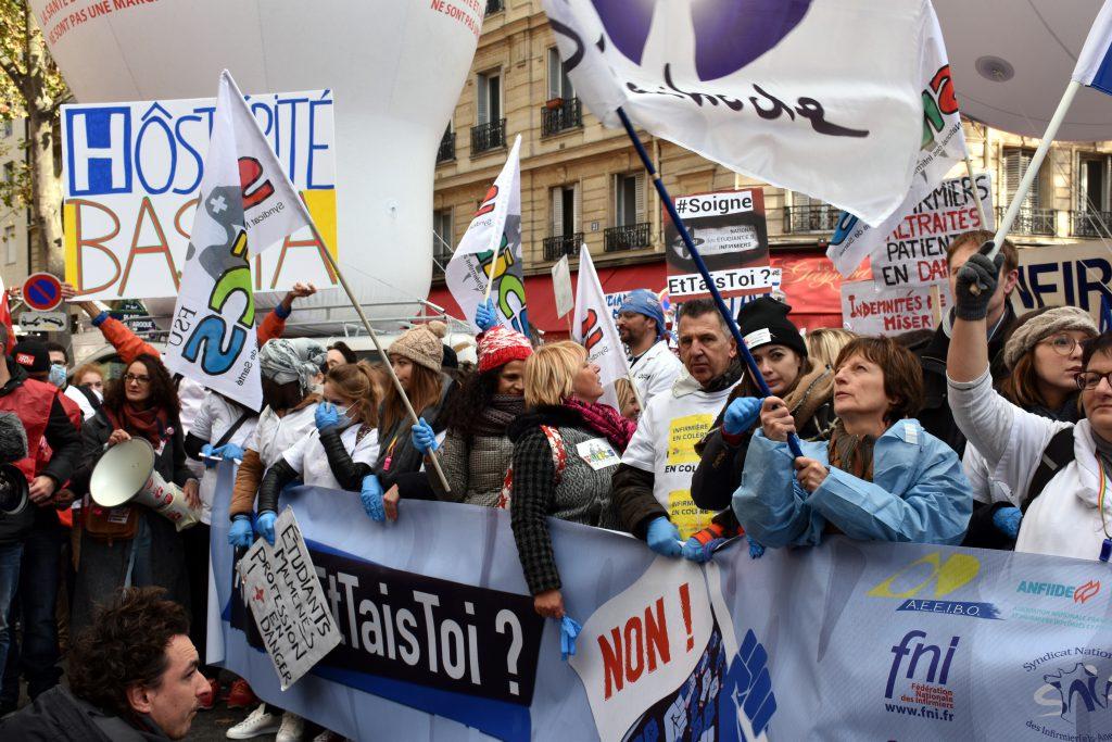 manifestation des infirmiers 8 novembre profession en danger ibode