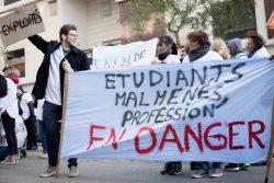 Mobilisation du 8 novembre : Bilan en demi-teinte pour les étudiants infirmiers aussi