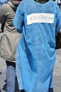 Grève des infirmières le 8 novembre