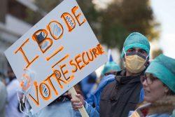 manifestation des infirmiers 8 novembre ibode infirmière de bloc opératoire à votre secours
