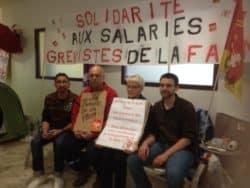 Quatrième jour de grève de la faim pour des agents du CHU de Limoges
