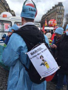mobilisation des infirmiers du 7 mars 2017
