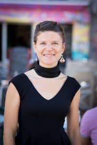 Alix Haentjens, infirmière puéricultrice auprès des mères-ados