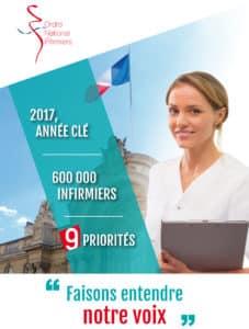 Présidentielle : L'Ordre National des Infirmiers adresse ses propositions aux candidats