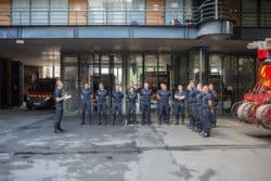Infirmiers sapeurs pompiers à Paris