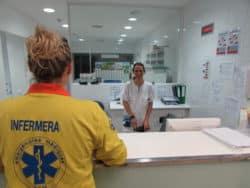 hôpital de Cerdagne des équipes d'infirmières en binômes