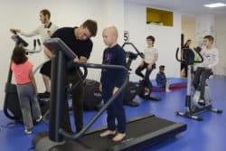 Activité sportive dans la prise en charge du cancer. Phare des sourires