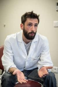 Benjamin Delache, infirmier en psychiatrie au Centre psychiatrique et d'admission (CPAA) de Lille
