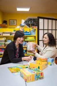 Karine Michel et Najia Tamort, infirmières en psychiatrie au Centre médico-psychologique pour enfants de Villeuneuve d'Ascq