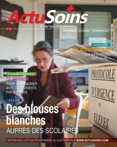 Actusoins magazine pour infirmier infirmière hospitalière et libérale