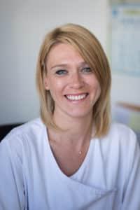 Anne-Sophie Dhouailly infirmière à la Clinique du Cap d'Or