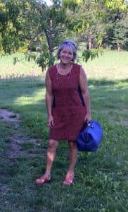 Nathalie Bouzats, infirmière libérale à Lannemezan