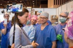 Agnès Buzyn Infirmier anesthésiste IADE Salon Infirmier 2018
