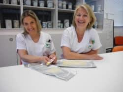 Solenne Ragot et Jocelyne Garsmeur infirmière