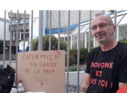 Cherbourg: un infirmier libéral dénonce des indus en faisant une grève de la faim