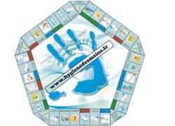 jeu sur l'hygiène des mains destiné aux professionnels de santé