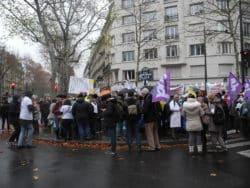 Mobilisation  #InfirmièresOubliées à Paris : « Je suis venue pour dire qu'on existe »