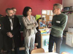 Psychiatrie: Agnès Buzyn vient s'inspirer à Lille