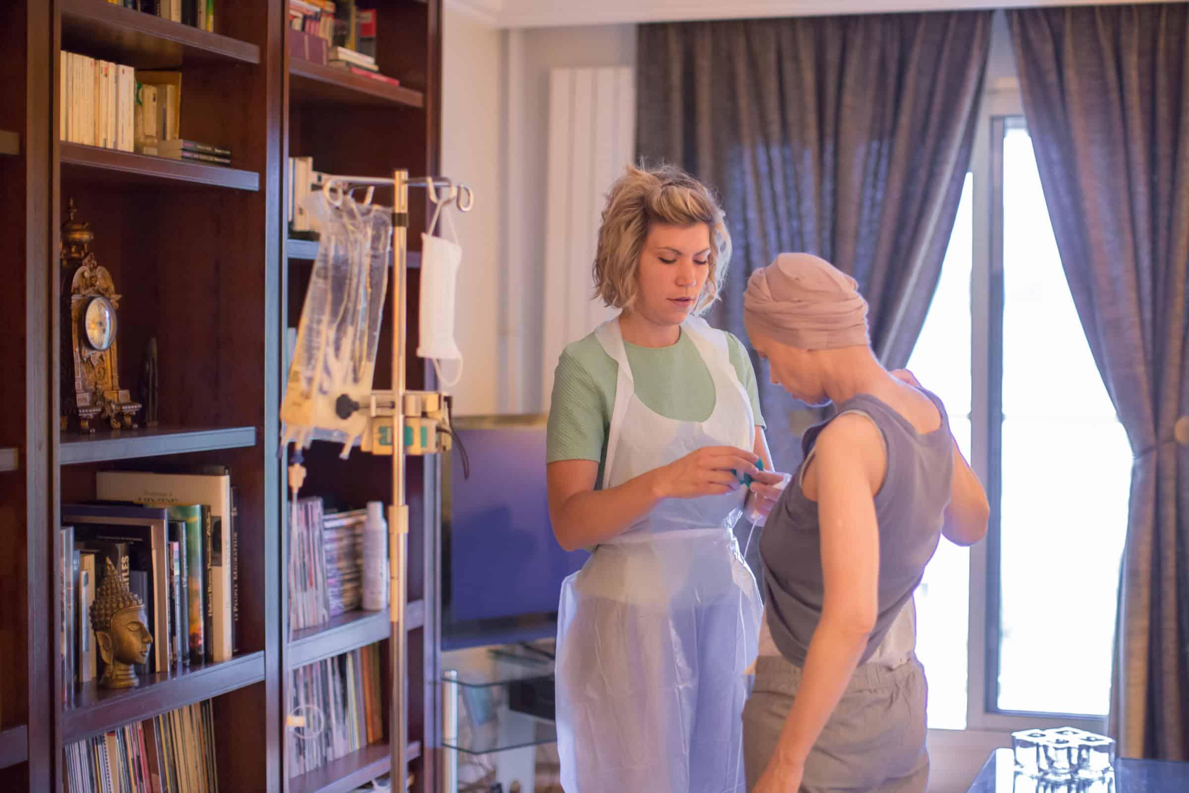 Une journée avec Elodie, infirmière en HAD Hospitalisation à