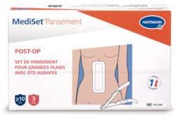 Mediset®Pansement POST-OP avec ôte-agrafes