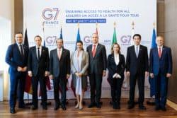 """Un G7 Santé """"pour assurer un accès à la santé pour tous"""""""