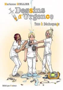 Infirmière et dessinatrice, Marianne Scellier est l'auteure de la bande-dessinéeDessins D'urgence