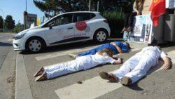 Hospices civils de Lyon: les infirmiers toujours en grève
