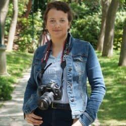 Anita Gillier, ancienne infirmière libérale, depuis peu comédienne et photographe