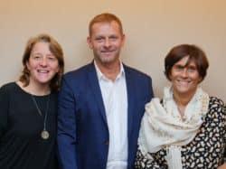 Experts de la cicatrisation des plaies : Anne Philippe, Jérôme Kern et Sylvie Meaume
