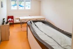 a balnéothérapie fait partie de la prise en charge à la clinique Le Gouz Ramsay-Générale de Santé