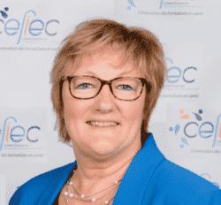 Martine Sommelette, présidente du CEFIEC