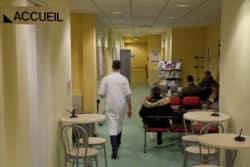 la salle d'attente du cabinet médical de la SNCF. Avec près de 4000 agents travaillant sur la région Bretagne