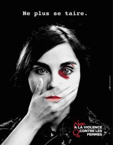Ne plus se taire non à la violence contre les femmes