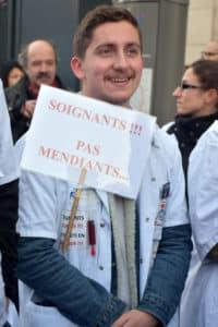 Mobilisation du 17 décembre: les soignants dans la rue pour leurs conditions de travail et leurs retraites