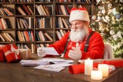 Lettres d'infirmiers au Père Noël