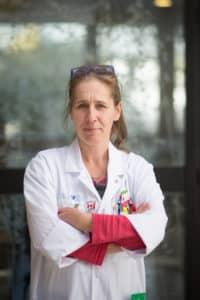 Marie-Pierre Dann est infirmière spécialiste clinique dans le service d'hématologie clinique du CHU Pitié Salpêtrière (AP-HP)