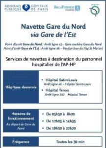 Ile-de-France : des lignes de bus réservées aux personnels hospitaliers