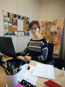Valérie Bernard, biographe hospitalière
