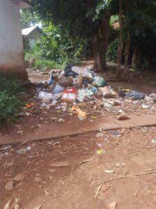 Les tas d'ordures, permanents dans l'île, favorisent l'épidémie de dengue, malgré l'intervention des équipes anti-vectorielles de l'ARS