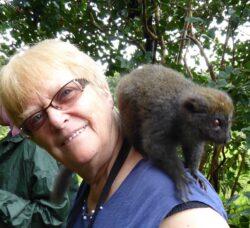 France-Lise Rossignol-Belmant, infirmière retraitée, s'investit pour Madagascar depuis une quinzaine d'années au sein d'une association humanitaire