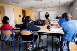 Particularité de la Clinique edouard rist : permettre aux adolescents de bénéficier d'un suivi pédagogique dispensé par l'Education nationale