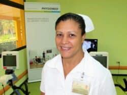 """Yamila Sanchez Dumas : """"L'infirmière a un rôle de conseil auprès du patient et de son entourage"""