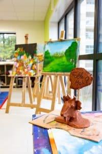Le pôle d'addictologie du Limousin possède un atelier d'art ouvert à tous ses patients.