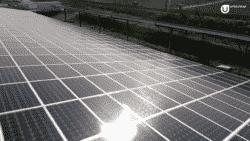 Au CH de Carcassonne, le parking de l'établissement a été recouvert d'ombrières photovoltaïques dont l'énergie sert à alimenter l'hôpital