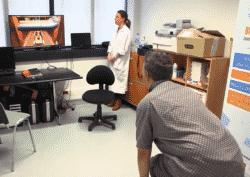 Avec Toap Run, le patient souffrant de maladie de Parkinson renforce ses capacités d'équilibre et de locomotion