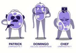 Immuno toon : un polar sur l'immunothérapie