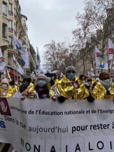 Les infirmiers de l'éducation nationale se mobiliseront à Paris le 10 juin