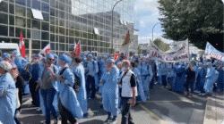 Les IADE dans la rue: ils revendiquent leur autonomie et un statut